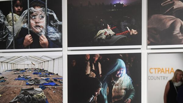Mostra dei lavori dei vincitori del concorso internazionale Stenin - Sputnik Italia