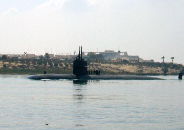 Sottomarino nucleare USA (foto d'archivio)