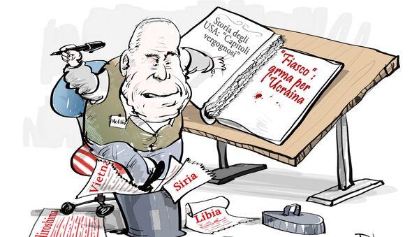 McCain non si da pace, fornire armi all'Ucraina era un obbligo morale - Sputnik Italia