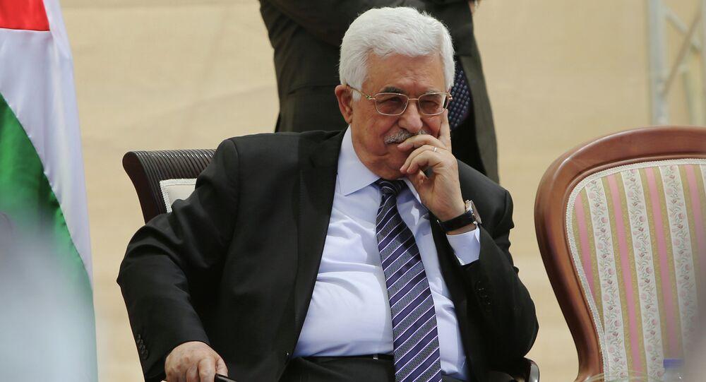 Leader della Palestina Abu Mazen (Mahmud Abbas)