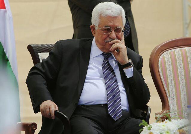 Leader della Palestina Abu Mazen (Mahmoud Abbas)
