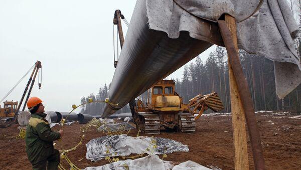 Lavori di costruzione Nord Stream - Sputnik Italia