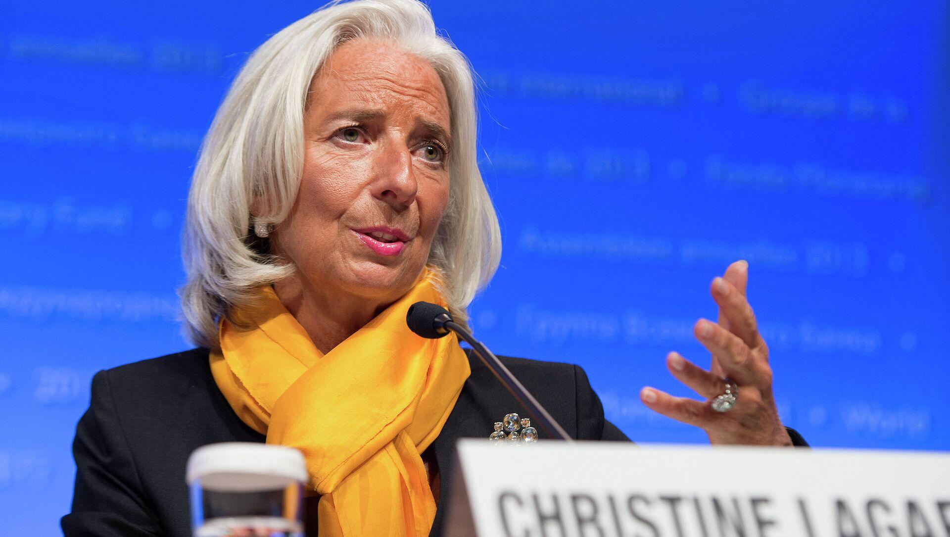 Christine Lagarde, FMI - Sputnik Italia, 1920, 18.03.2021