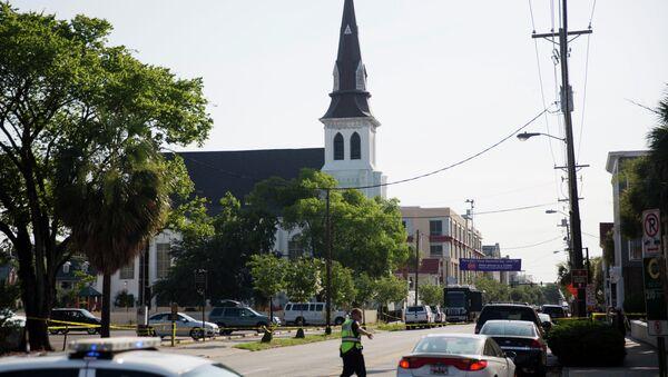 Chiesa a Charleston, USA - Sputnik Italia