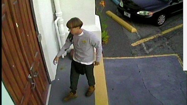 Presunto autore del massacro a Charleston Dylann Roof - Sputnik Italia