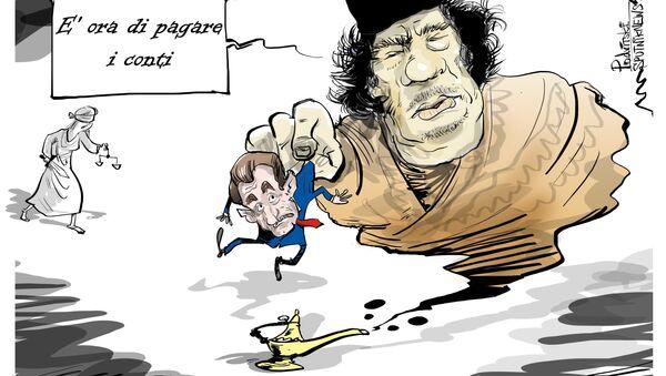 Gheddafi si è vendicato con il presidente francese dall'aldilà. - Sputnik Italia