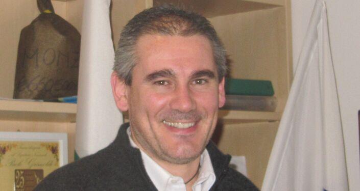 Paolo Grimoldi, segretario nazionale della Lega Lombarda