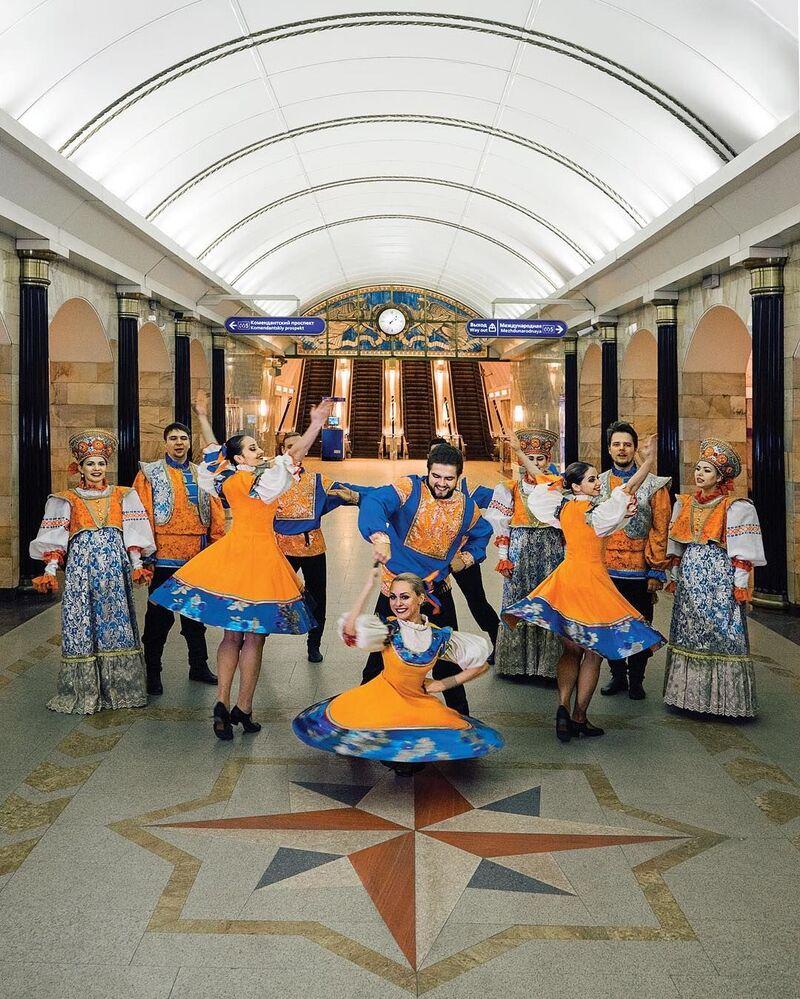 L'estetica della metropolitana di San Pietroburgo
