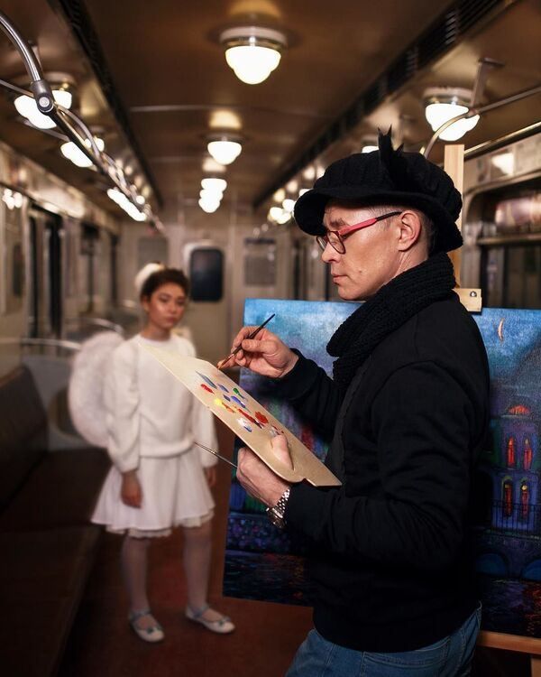 L'estetica della metropolitana di San Pietroburgo - Sputnik Italia