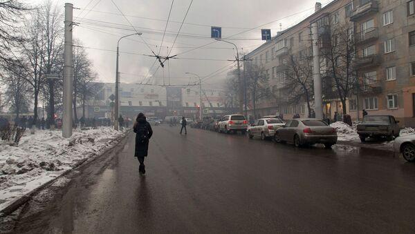 Пожар в торговом центре «Зимняя вишня» в Кемерово - Sputnik Italia