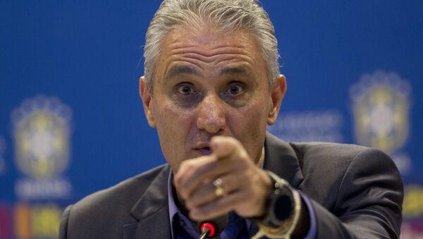 Il capo allenatore della nazionale brasiliana Tite - Sputnik Italia