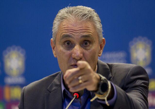 Il capo allenatore della nazionale brasiliana Tite