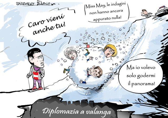 Diplomazia a valanga