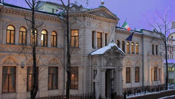 L'edificio dell'ambasciata italiana a Mosca - Sputnik Italia