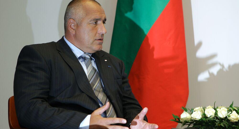Il premier bulgaro Borisov