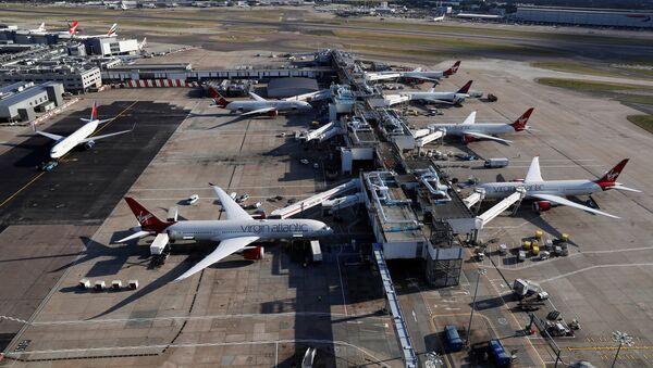 L'aeroporto di Heathrow vicino Londra - Sputnik Italia