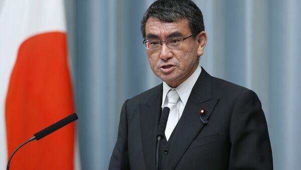 Ministro degli esteri giapponese Taro Kono - Sputnik Italia