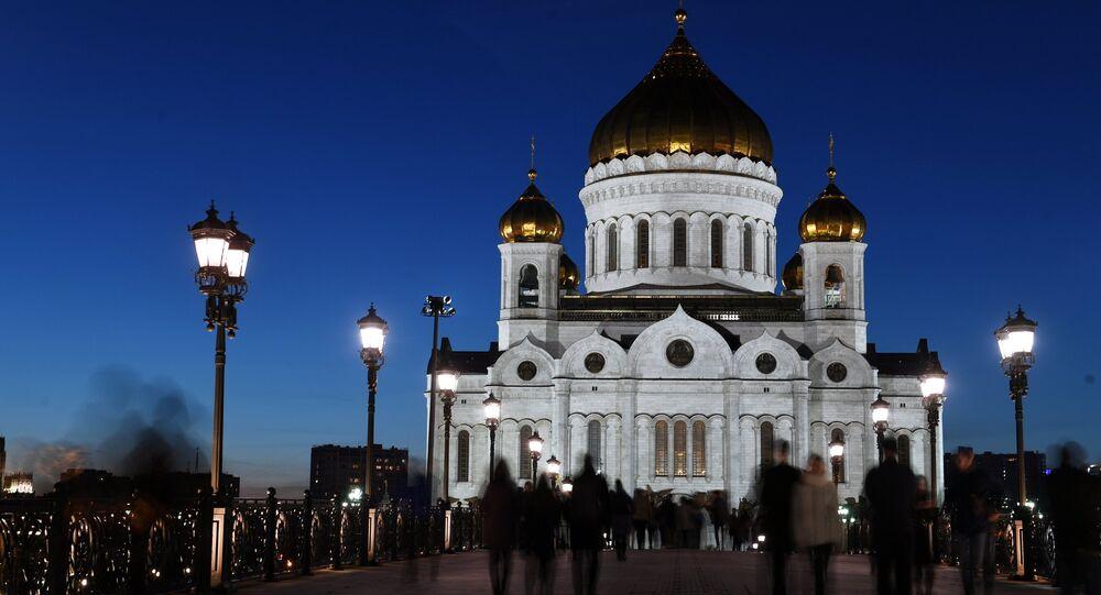 Mosca, la Cattedrale di Cristo Salvatore (foto d'archivio)