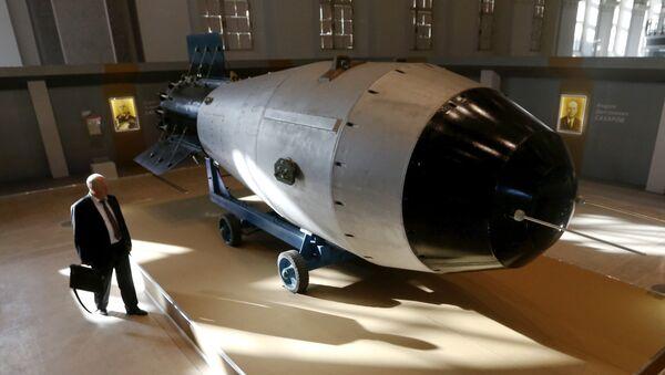 Una replica della bomba nucleare sovietica AN-602 - Sputnik Italia