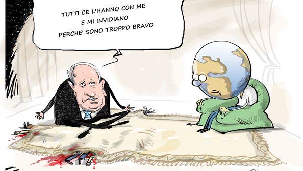 """Netanyahu risponde ad accuse di Erdogan di condurre """"politica del terrore"""" - Sputnik Italia"""