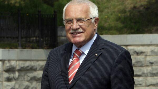 Václav Klaus - Sputnik Italia