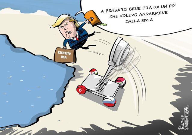 Trump se ne va dalla Siria