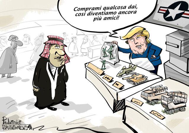 Trump ha chiesto soldi ai sauditi per mantenere i militari USA in Siria