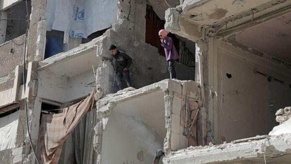 Duma, Siria - Sputnik Italia