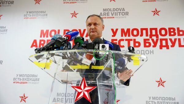Presidente della Moldavia Igor Dodon - Sputnik Italia