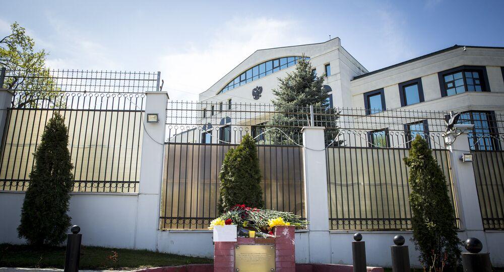 L'ambasciata della Russia a Chisinau