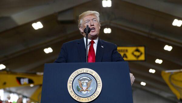 Il presidente statunitense Donald Trump - Sputnik Italia