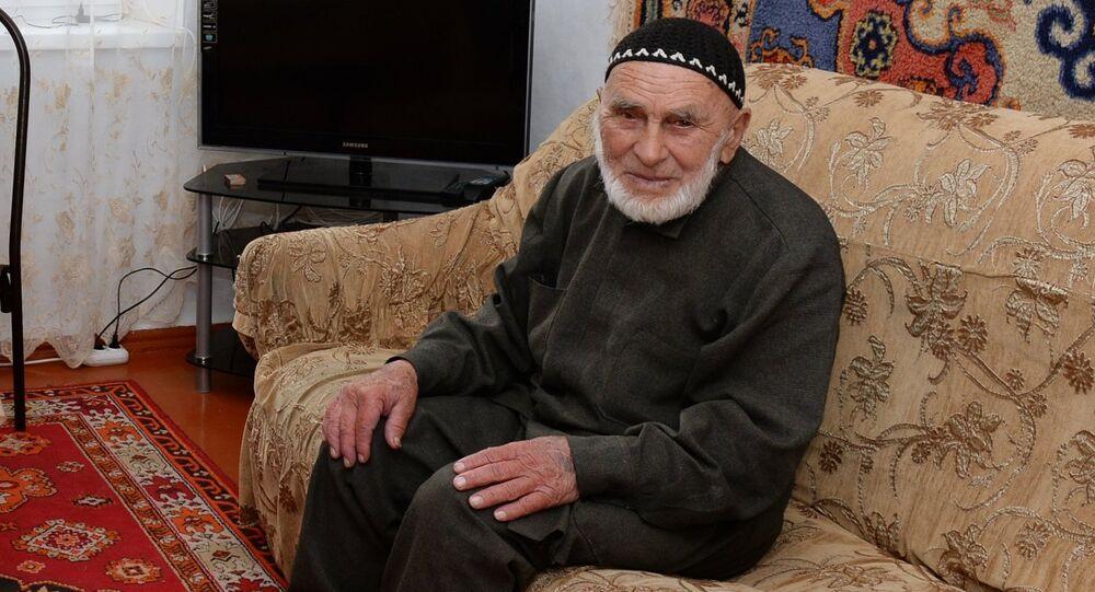 Appaz Iliev, abitante 118enne dell'Inguscezia