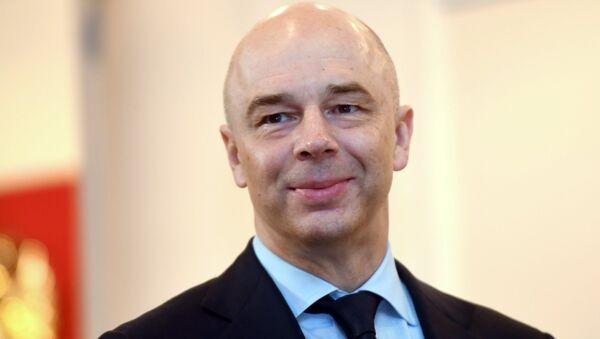 Il Ministro delle Finanze Anton Siluanov - Sputnik Italia