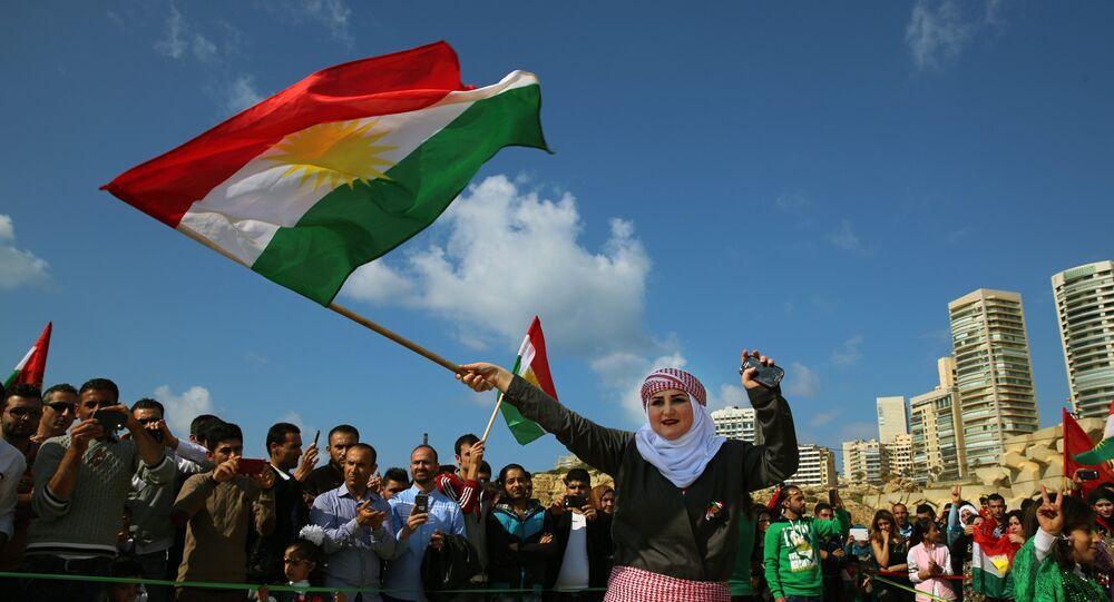 Curdi siriani a Qamishli, Siria