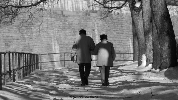 Una coppia anziana - Sputnik Italia