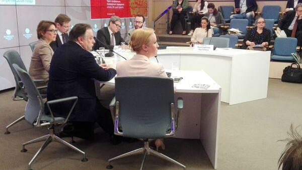 Conferenza stampa sui risultati del progetto Stagioni Russe - Sputnik Italia