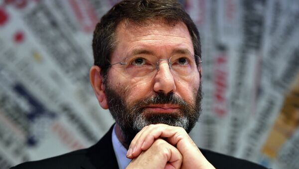 Ignazio Marino, sindaco di Roma - Sputnik Italia
