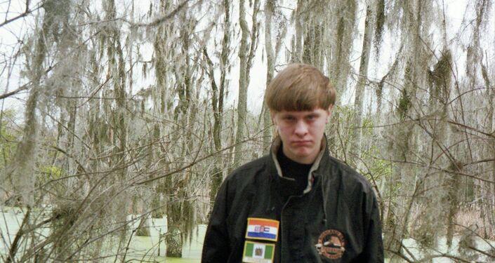 Dylann Roof, autore della sparatoria a Charleston