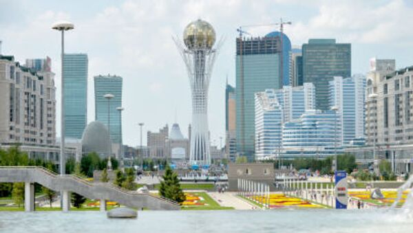 Una vista di Astana, la capitale del Kazakhstan - Sputnik Italia