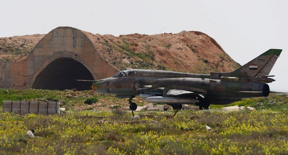 Syrian Air Forces resume flights from Shayrat Air Base