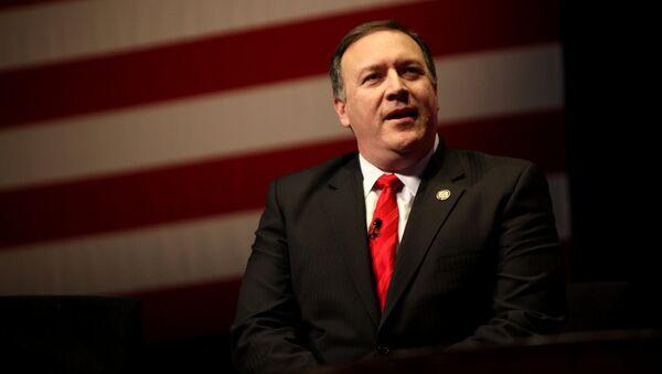 Mike Pompeo, direttore della CIA - Sputnik Italia