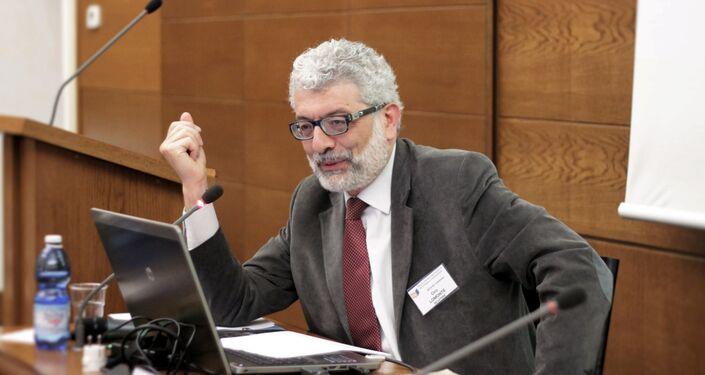 Ciro Lomonte, segretario del Movimento Siciliani liberi
