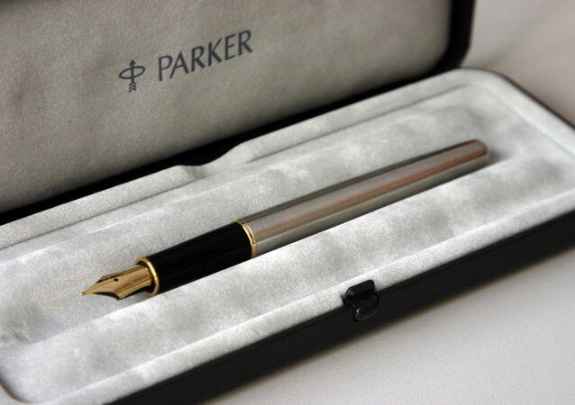 Una penna stilografica Parker