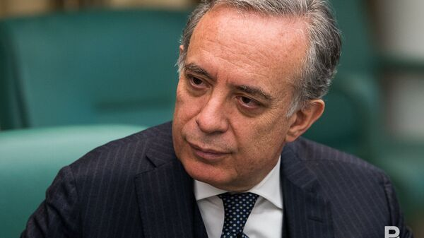 L'ambasciatore dell'Italia nella Russia Pasquale Terracciano - Sputnik Italia