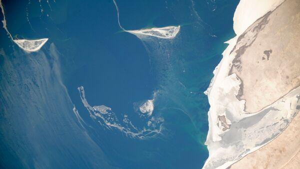 La vista sul lago di Aral dallo spazio - Sputnik Italia