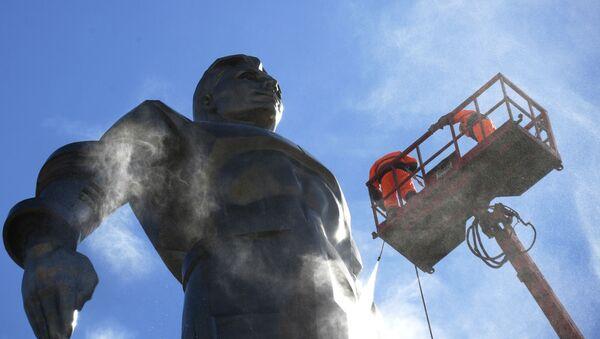 Il monumento al cosmonauta Yuri Gagarin a Mosca. - Sputnik Italia