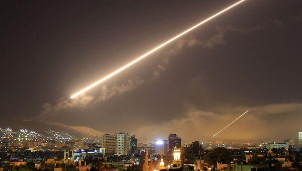 L'attacco missilistico degli USA a Damasco, Siria. (foto d'archivio) - Sputnik Italia