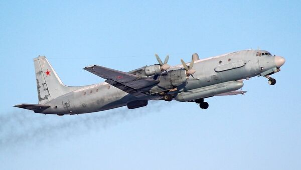 A Russian Air Force Ilyushin Il-20 reconnaissance aircraft. - Sputnik Italia