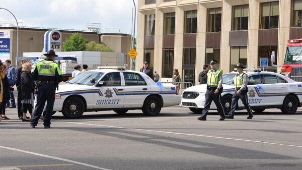 La polizia, Edmonton, Canada - Sputnik Italia