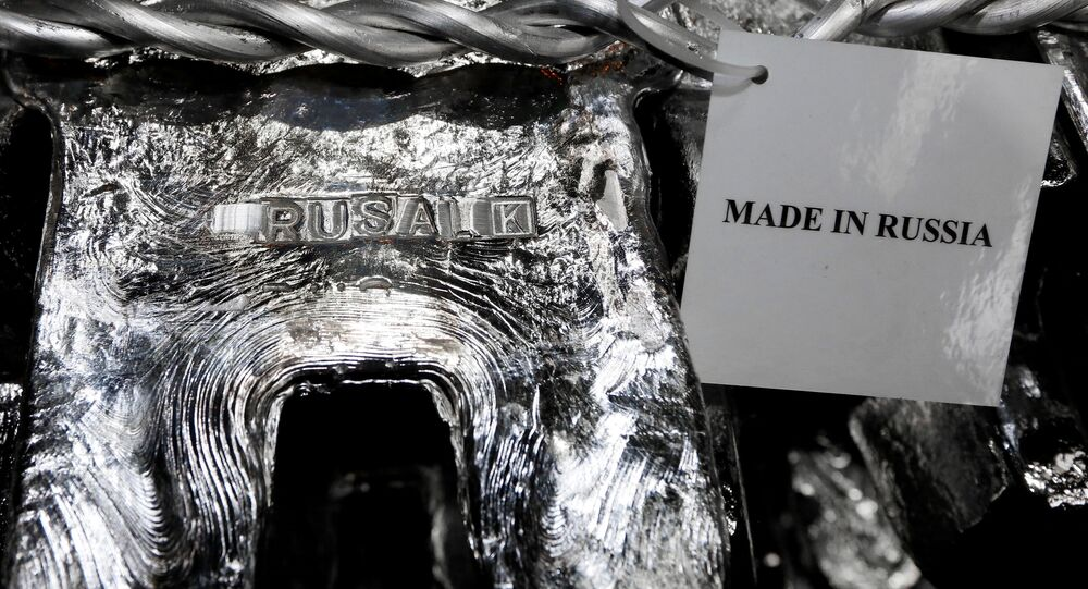 Alluminio prodotto in Russia
